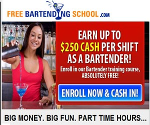 Free Bartending Course. Click and check it out