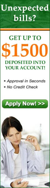 Obtaining fast cash for a short term loan couldn't be easier!   Click here for more info...