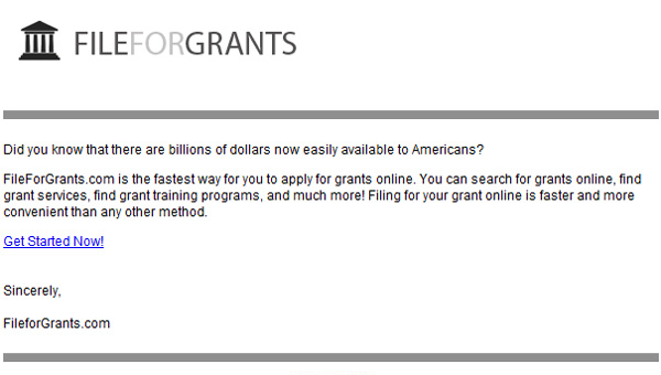 Turn Dreams into reality with FileForGrants  Click here for details...