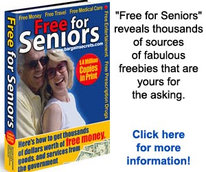 It's All Free For Seniors!  Click here for details...