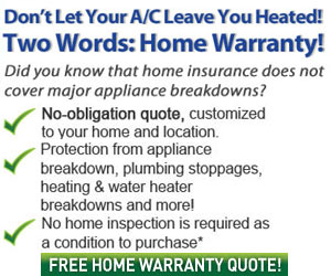 Help protect your home and avoid the hassles of home repair with HomeWarranty101!  Click here for details...