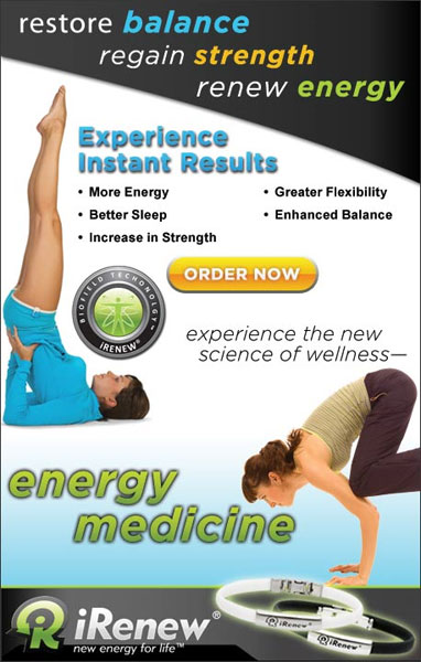 iRenew Bracelet is an innovation into the future of healthier living. Experience the new science of wellness with this energy medicine. iRenew is the newest, most powerful energy balancing technology available today.