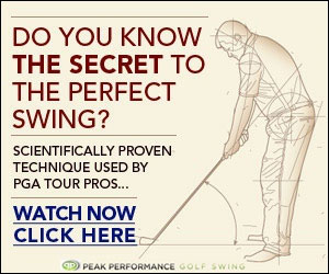 Do you know the secret to the perfect golf swing?  - Click here to watch now...