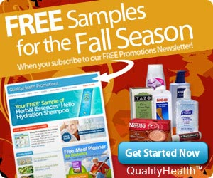 Enjoy the Wonderful Season of Fall with these Free Samples!  - Click here for details...