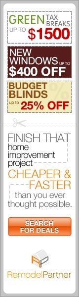 Save Time and Money on Your Home Upgrade with RemodelPartner!  Click here for details...