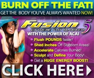 Are you tired of feeling sluggish and being overweight? Get your energy and your life back with Fusion 5 Extreme. -  Click here for details...