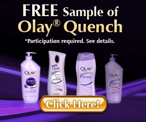 Free Oil of Olay Sample Pack - Click here for details...