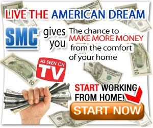Live the American Dream - Start Working from Home NOW! Click here for details...