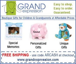 Boutique Gifts for Children and Grandparents At Affordable Prices!  Click here for details...
