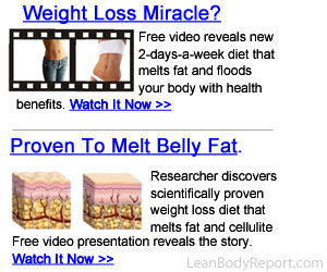 5 Tips To Lose Stomach Fat!  Click here for details...