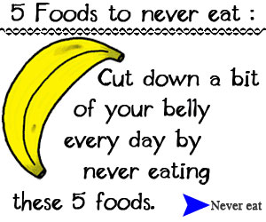 5 Foods to Never Eat! - Click here for details...