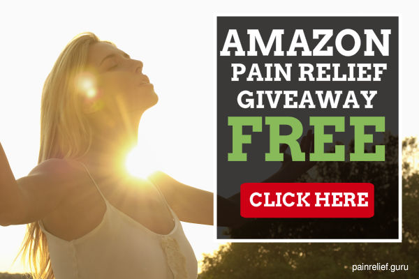 Amazon Pain Relief Giveaway!