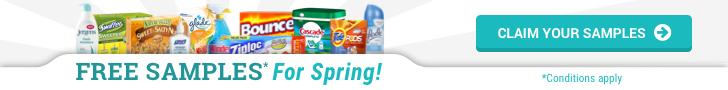 FREE Samples for Spring!