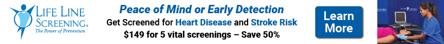 Peace of Mind or Early Detection with Life Line Screenings!