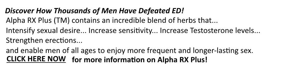 Click to Learn More about Alpha RX Plus!